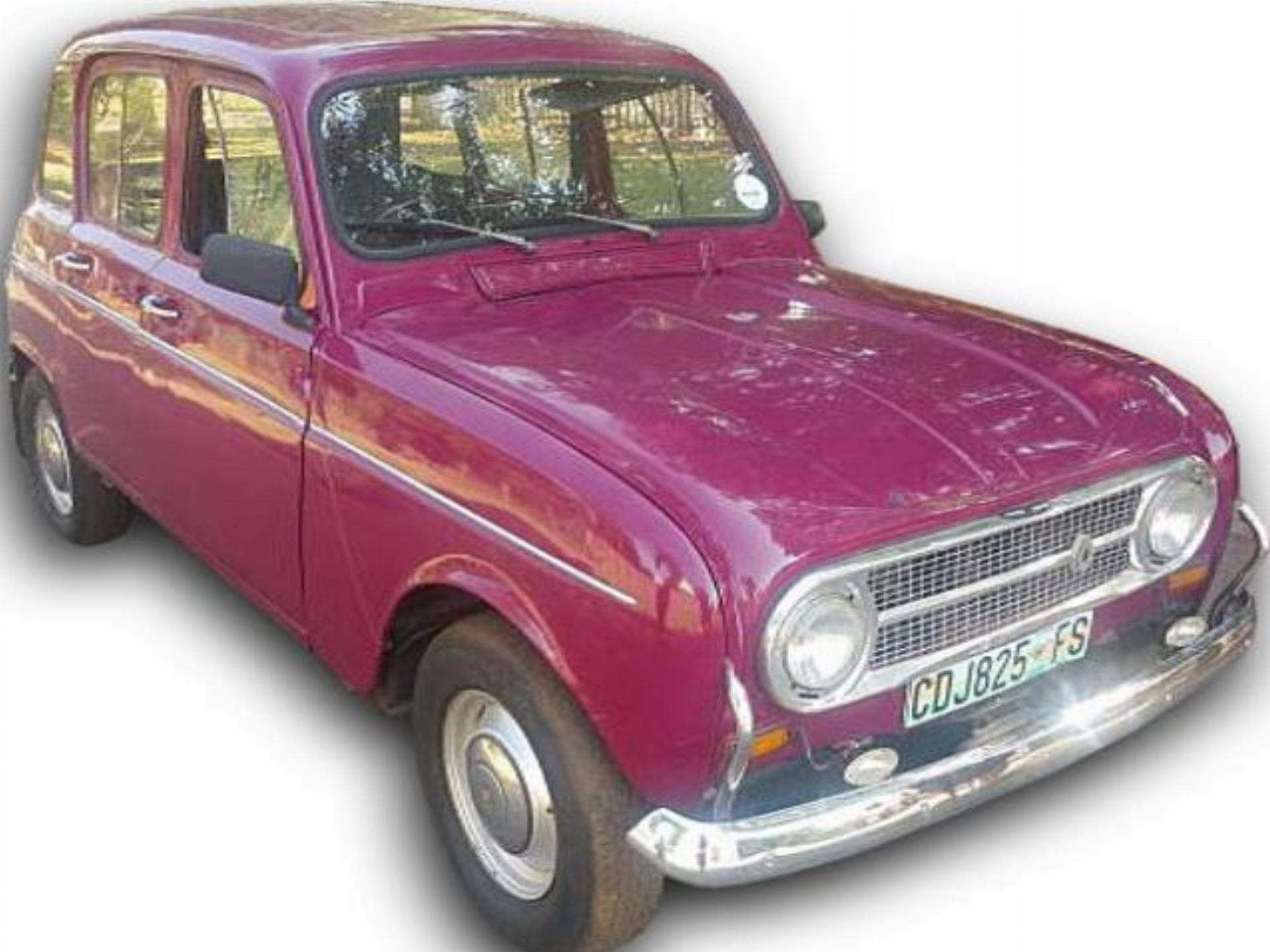 Renault 20 Tenault 4 L