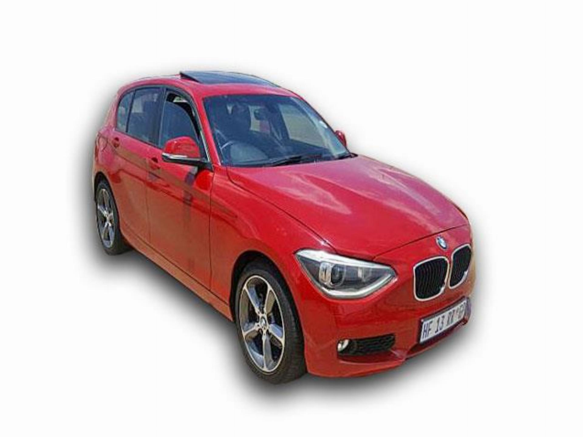 1 Series Red BMW 116I F20