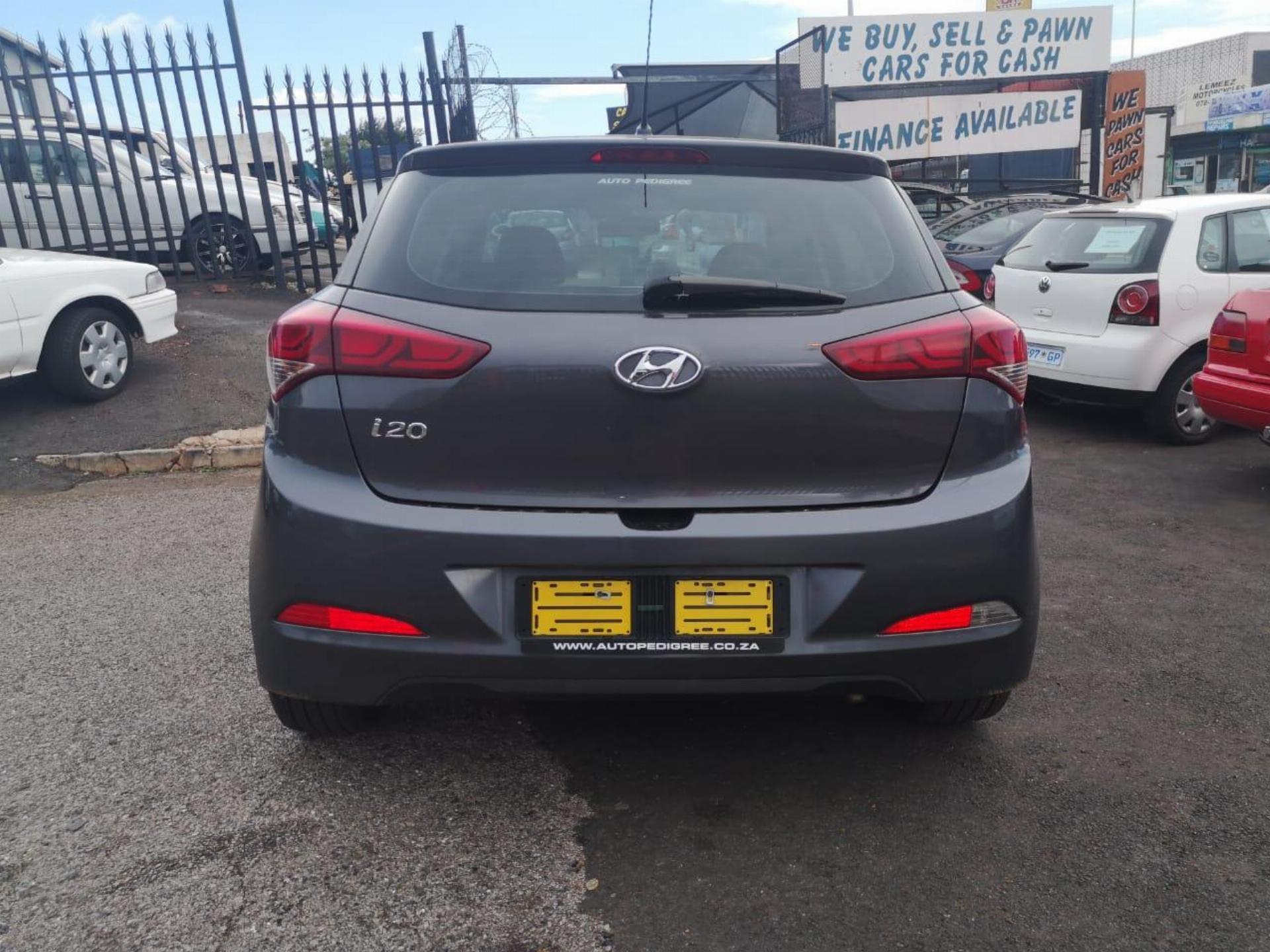 Used Hyundai I20 1 4 Fluid 2015 2015 On Auction Pv1029133