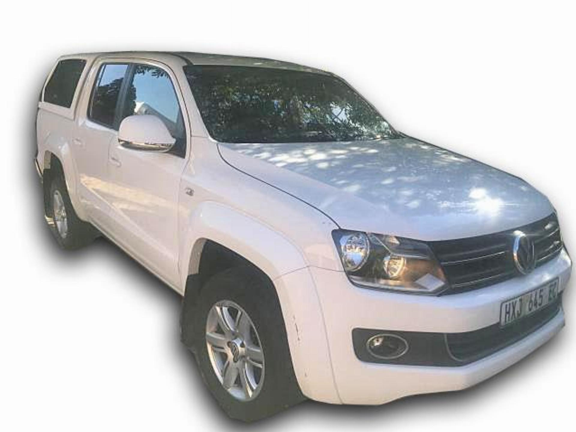 VW Amarok White . Excellent Running Condition
