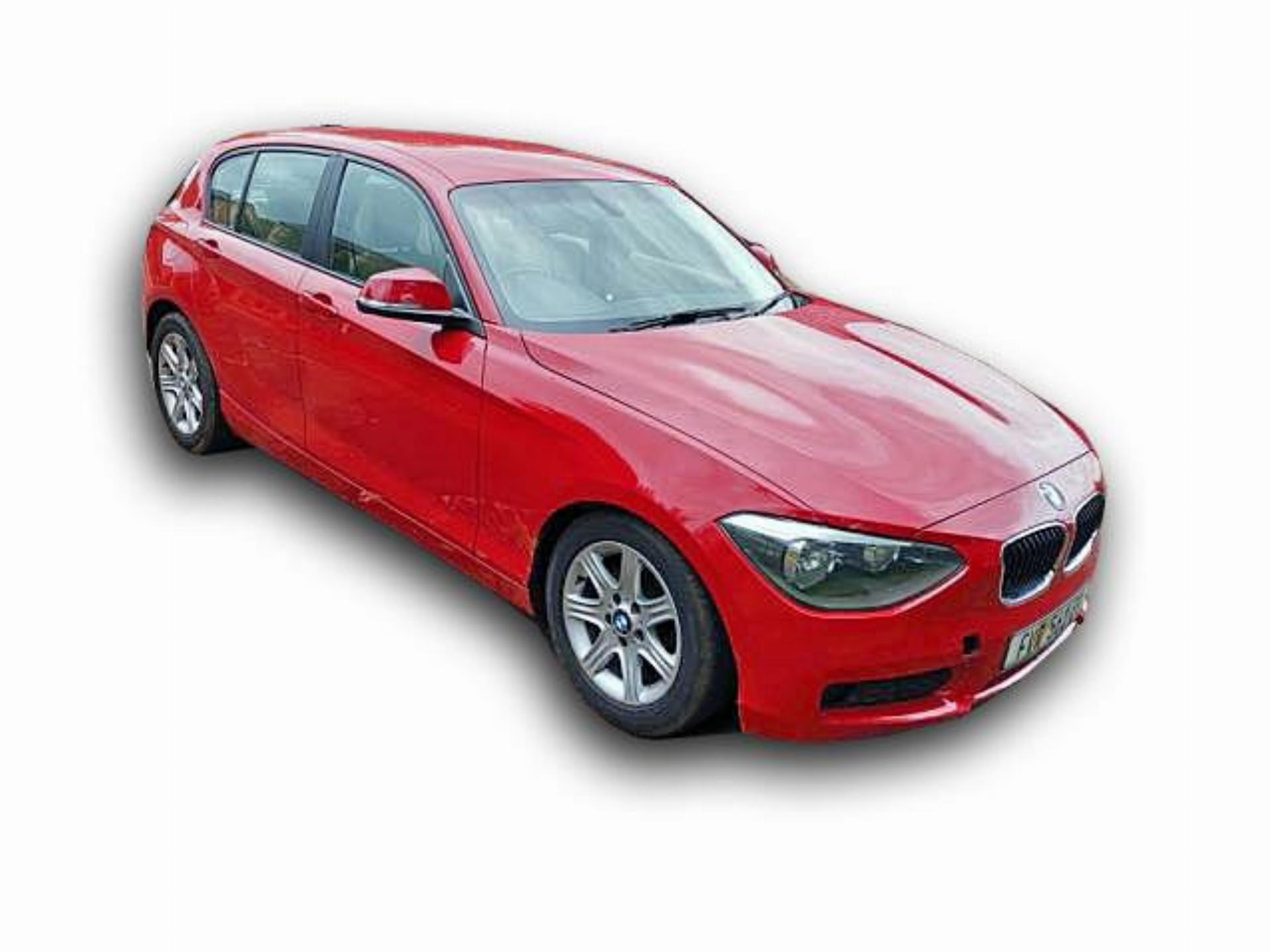 1 Series BMW 116I F20 Manual