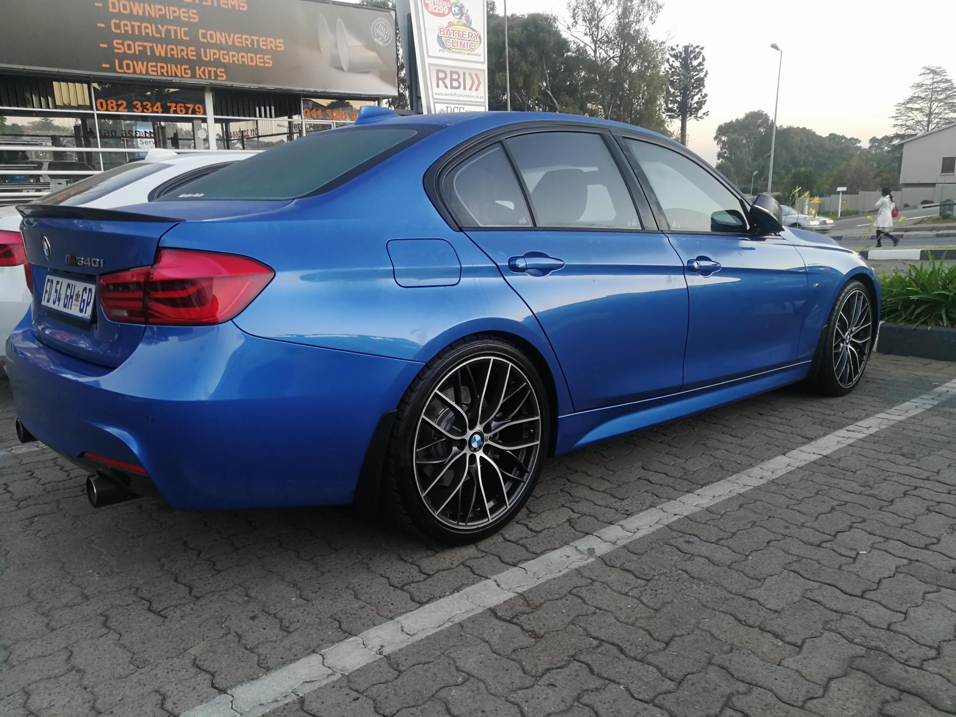 Used Bmw 3 Series 340i M Sport 2016 On Auction Pv1031641