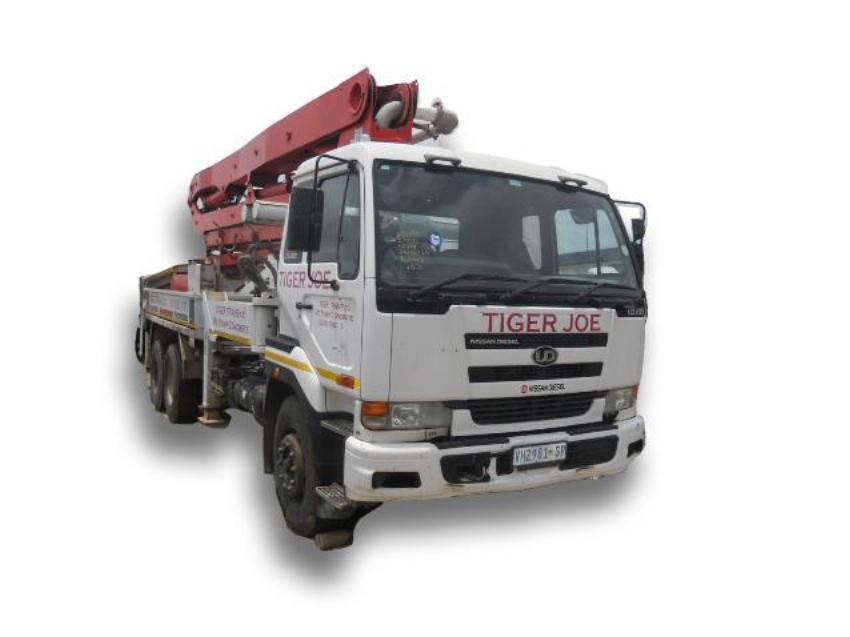 Repossessed Putzmeister Concrete Pump M32z 2007 On Auction