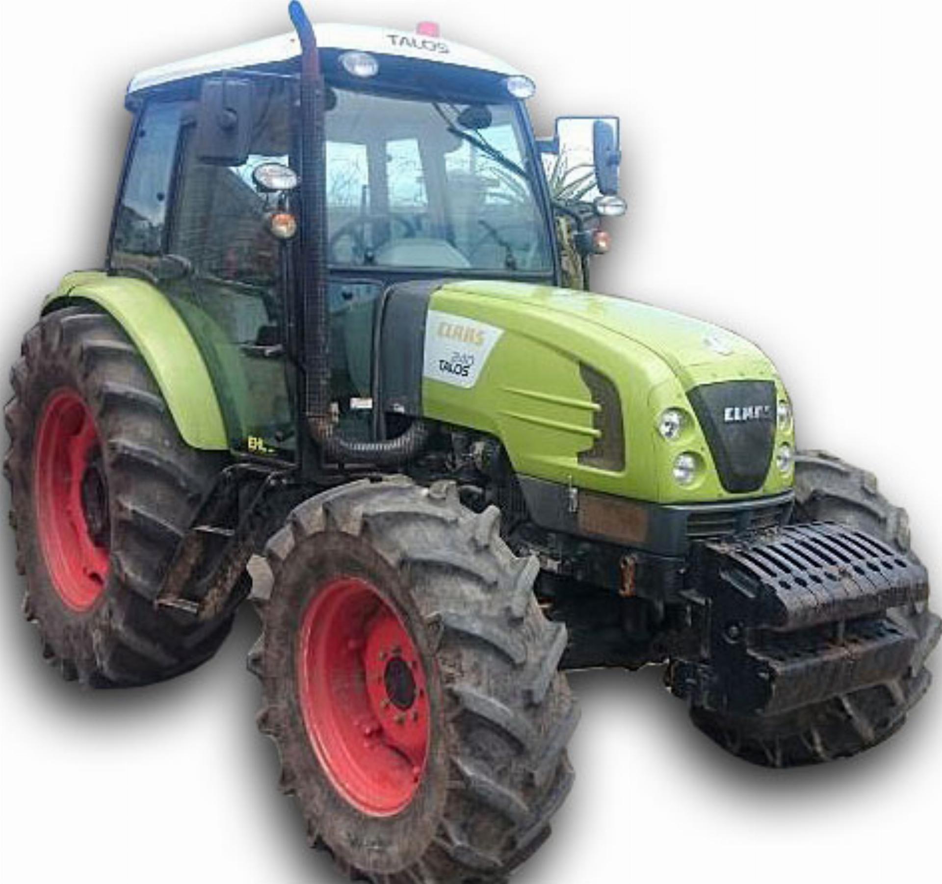 Repossessed Claas Talos 240 Cab 4WD 2013 On Auction