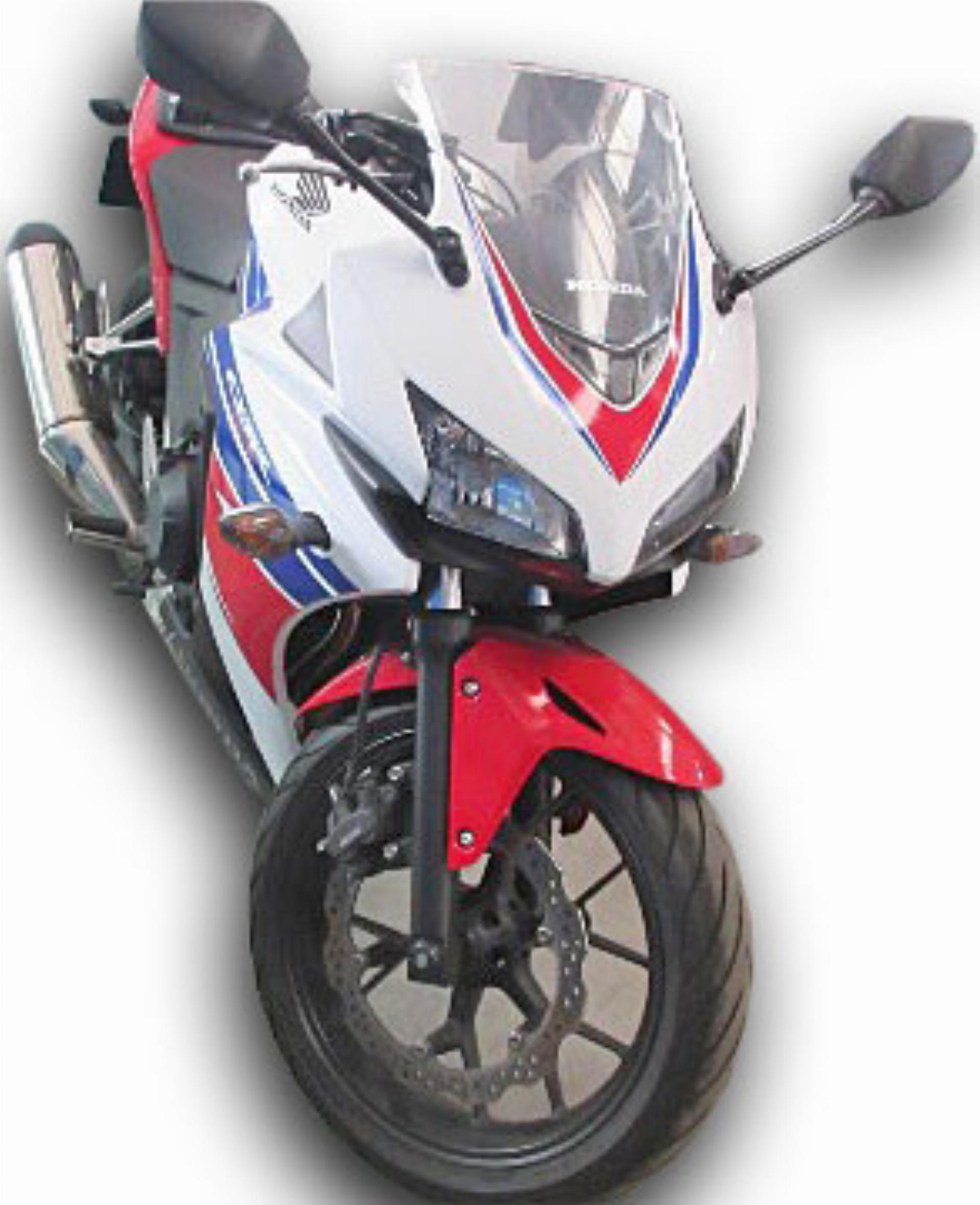 Repossessed Honda CBR 500R 2014 On Auction