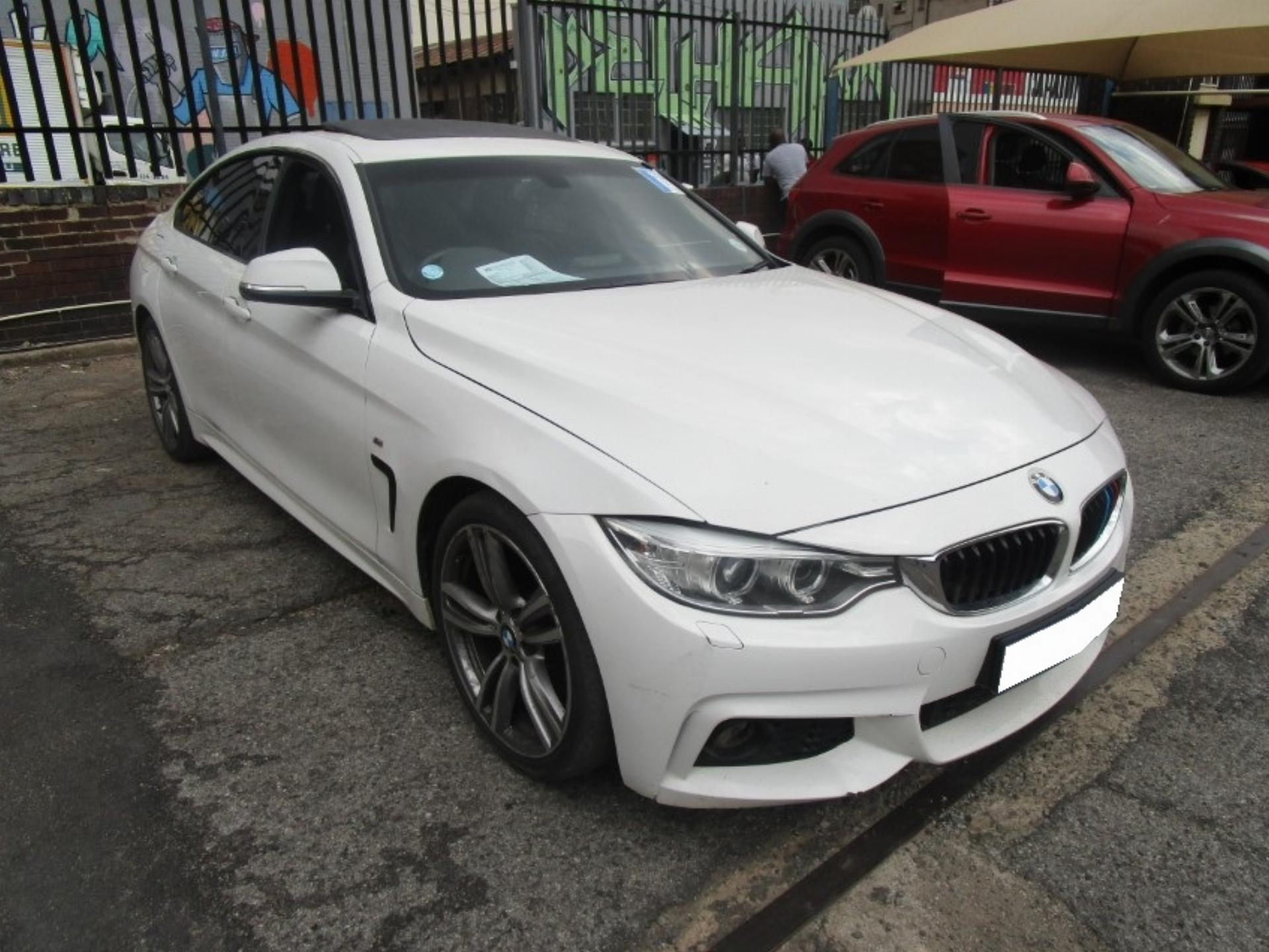 Repossessed BMW 4 Series 420I Gran Coupe M Sport 2014 on ...