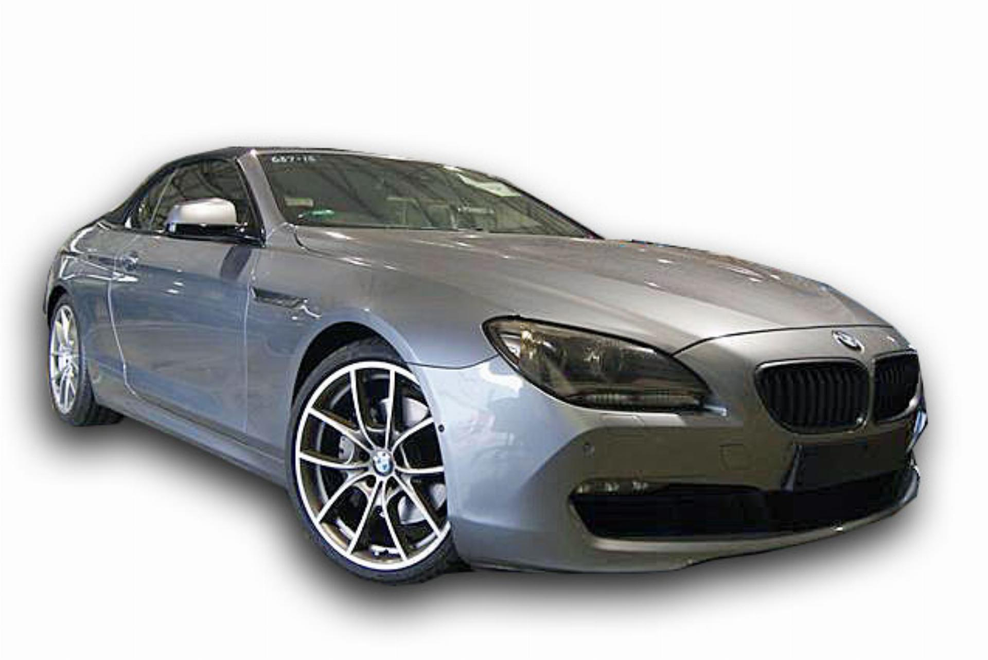 BMW 6 Series 650I Convertible  A/T F12