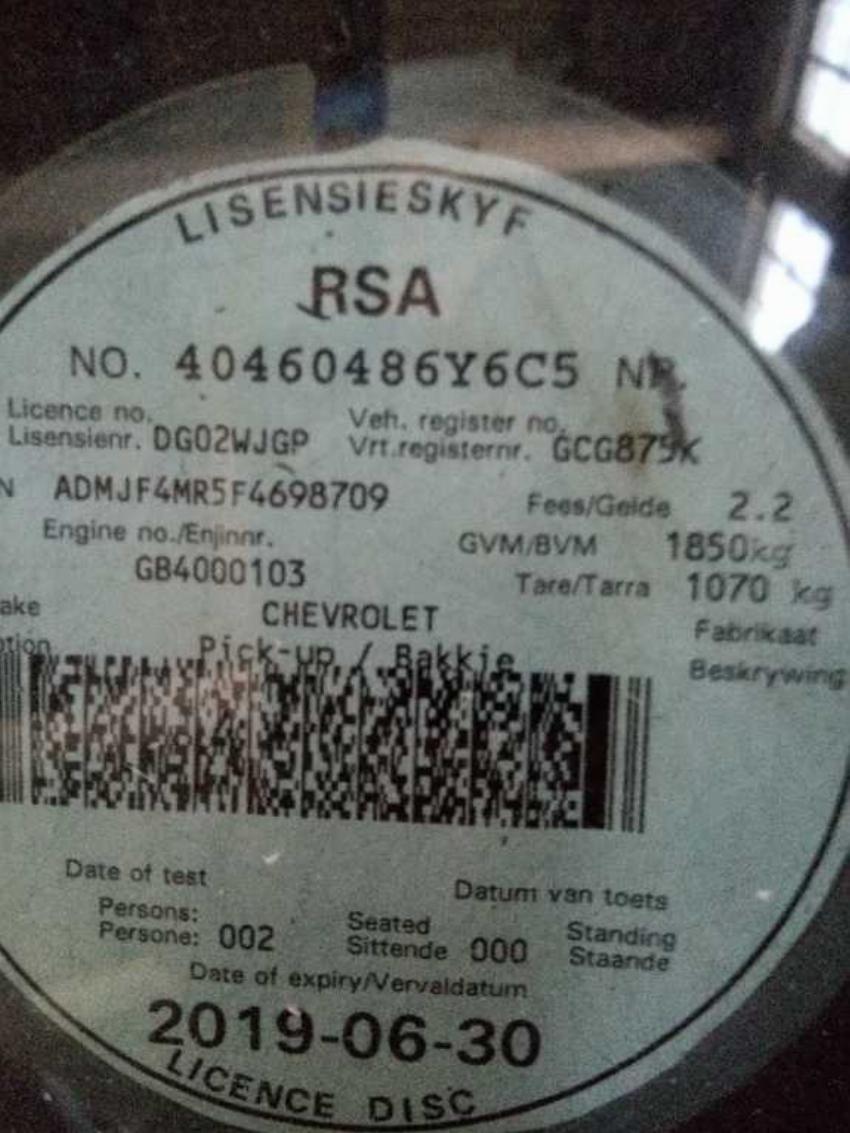 Chevrolet Utility 1.4 + A/C