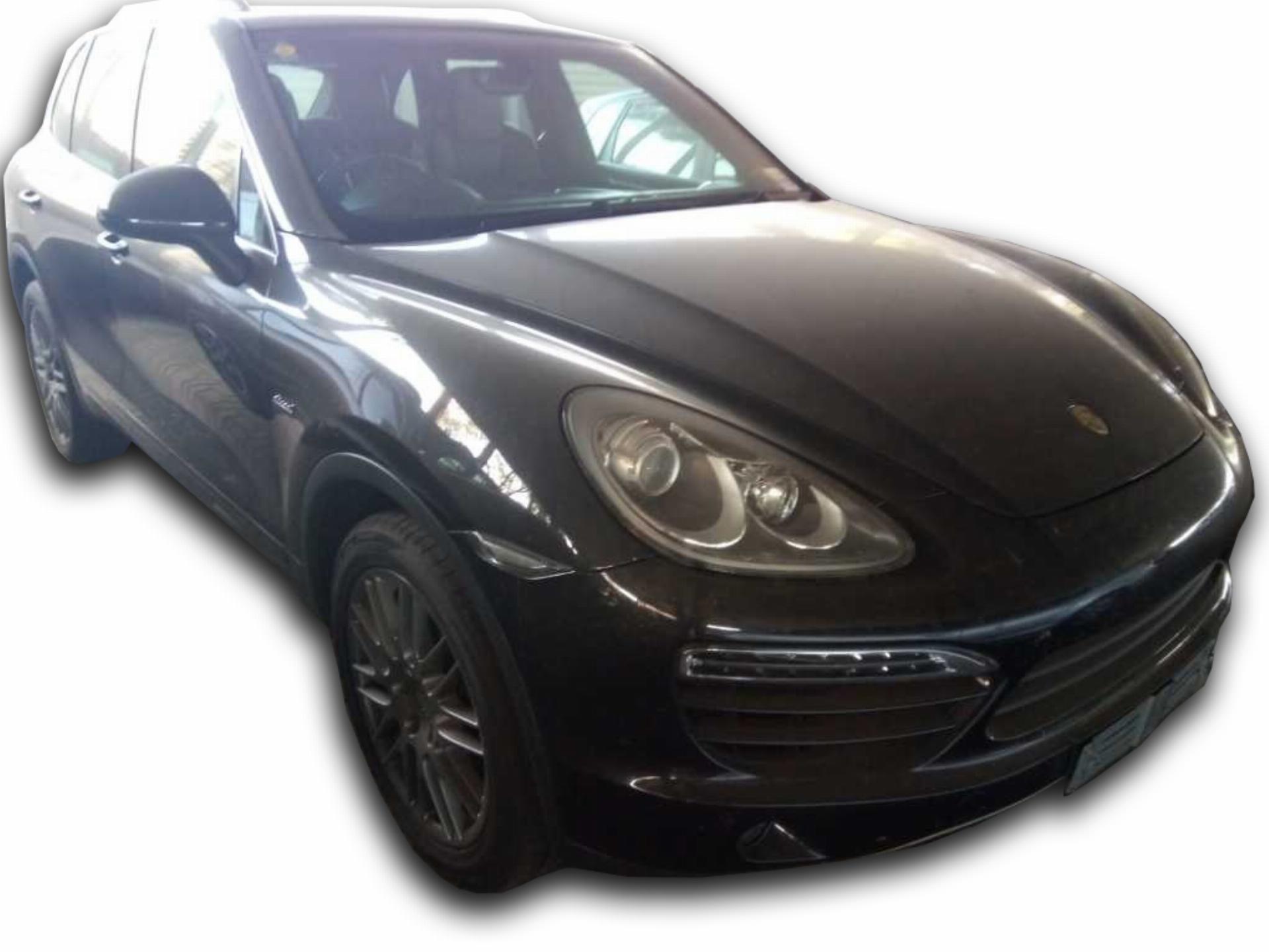 Porsche Cayenne Diesel Tiptron