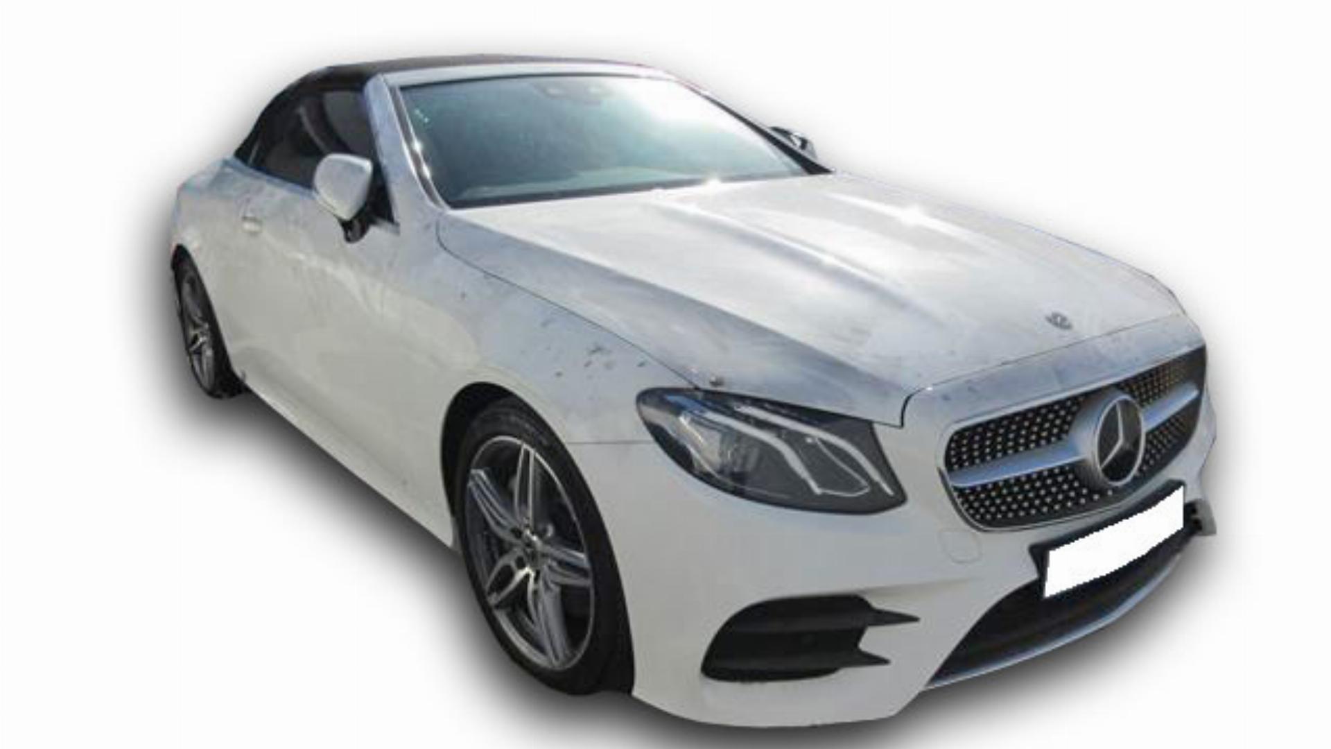 Mercedes Benz E Class D Cabriolet