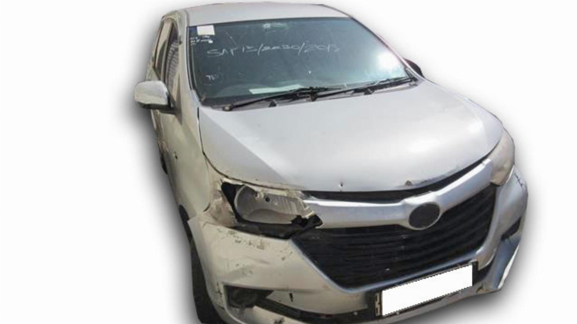 Toyota Avanza 1.5 SX 5MT