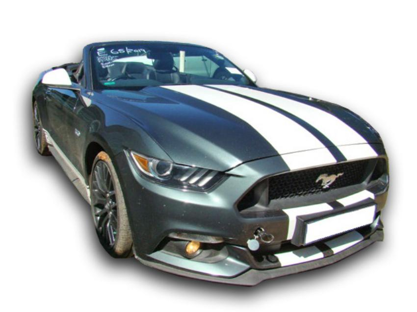 Ford Mustang 5.0 GT Convertible A/T