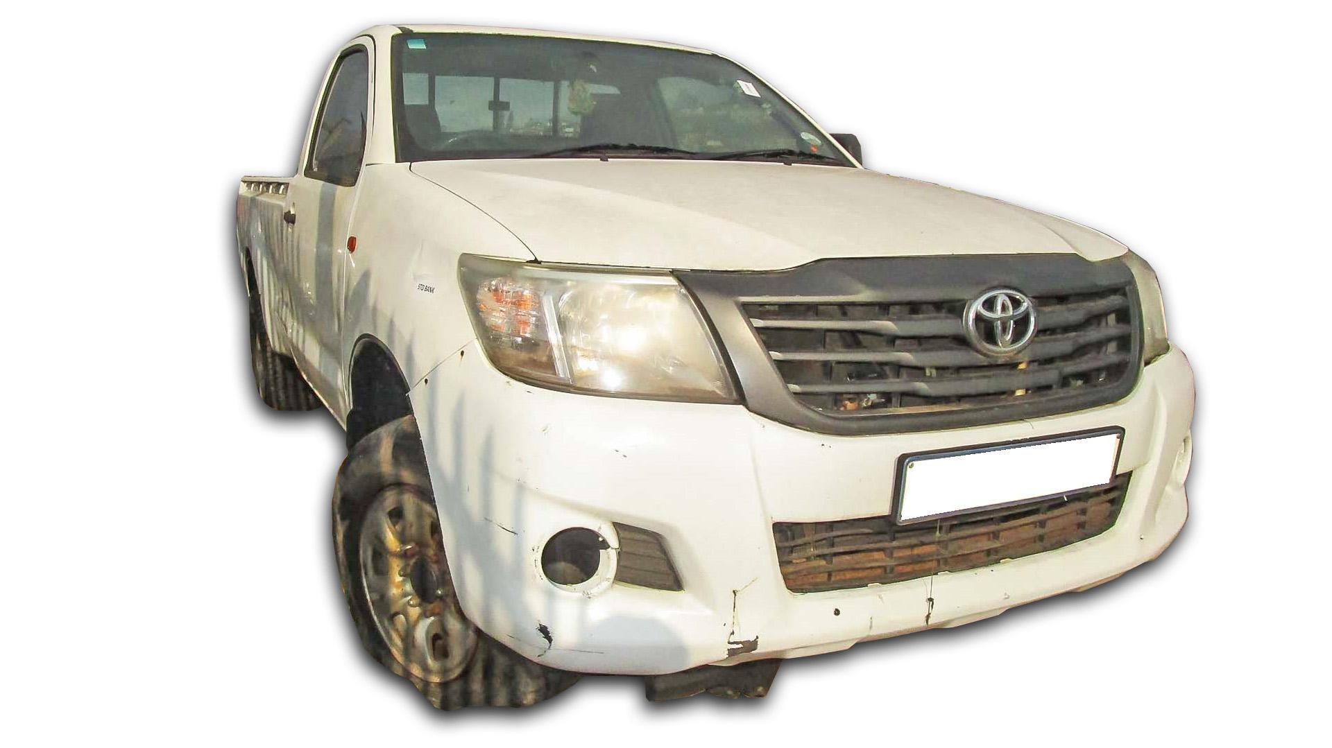 Toyota Hilux 2.5 D-4D SRX 4X4