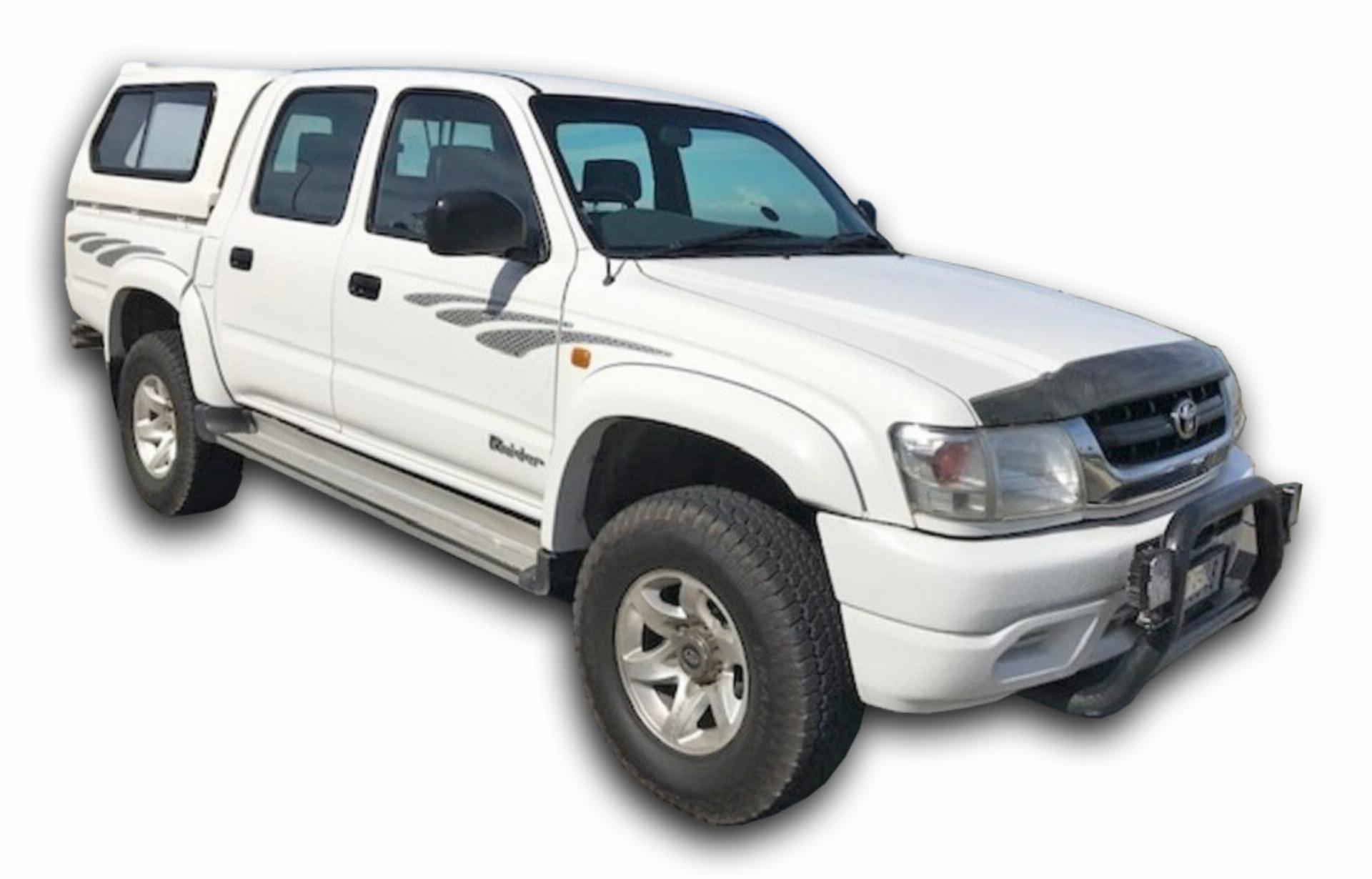 Toyota Hilux KZ-TE Raised Body