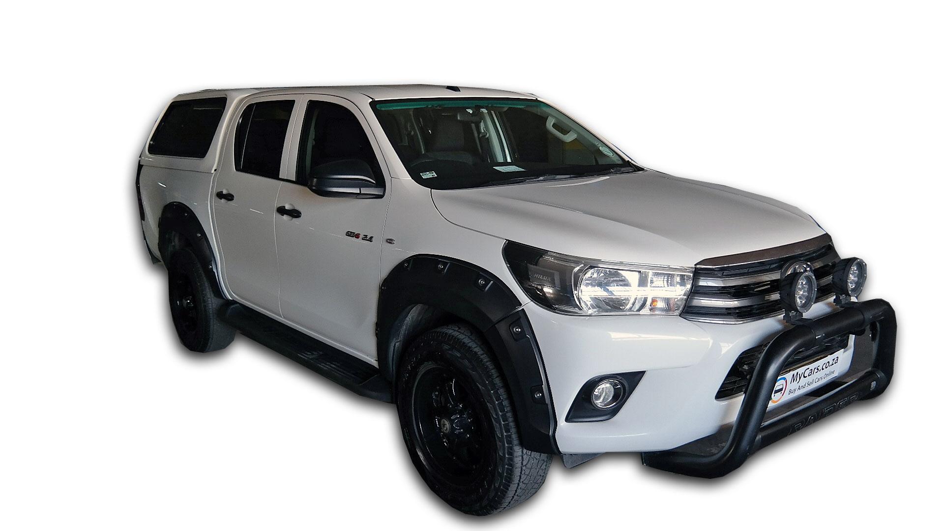 Toyota Hilux 2.4 GD-6 SRX P