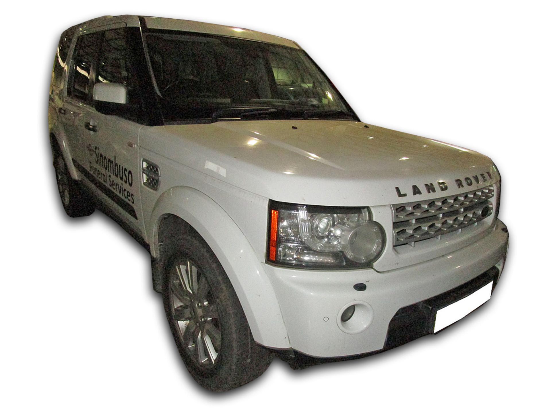 Land Rover Discovery 4 5.0 V8