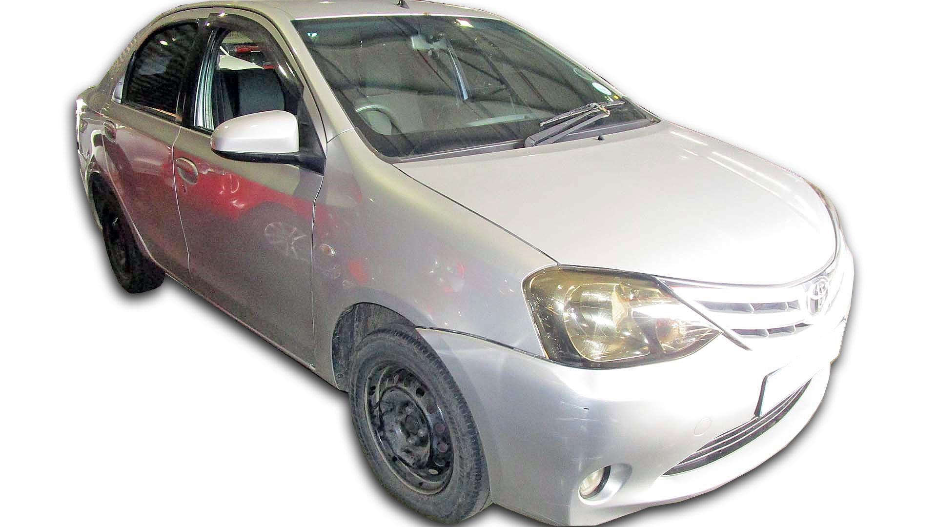 Toyota Etios 1.5 SX Sprint