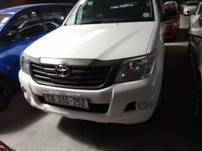 Toyota Hilux 2.5 D-4D R/B SRX P/U