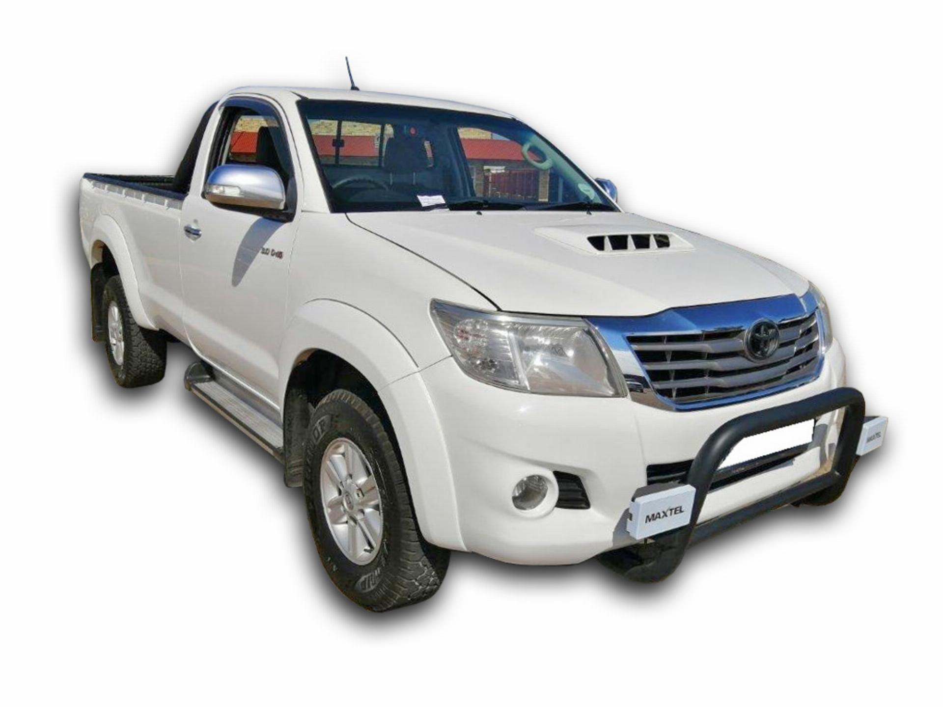 Toyota Hilux 3.0 D4-D PU SC 4X4