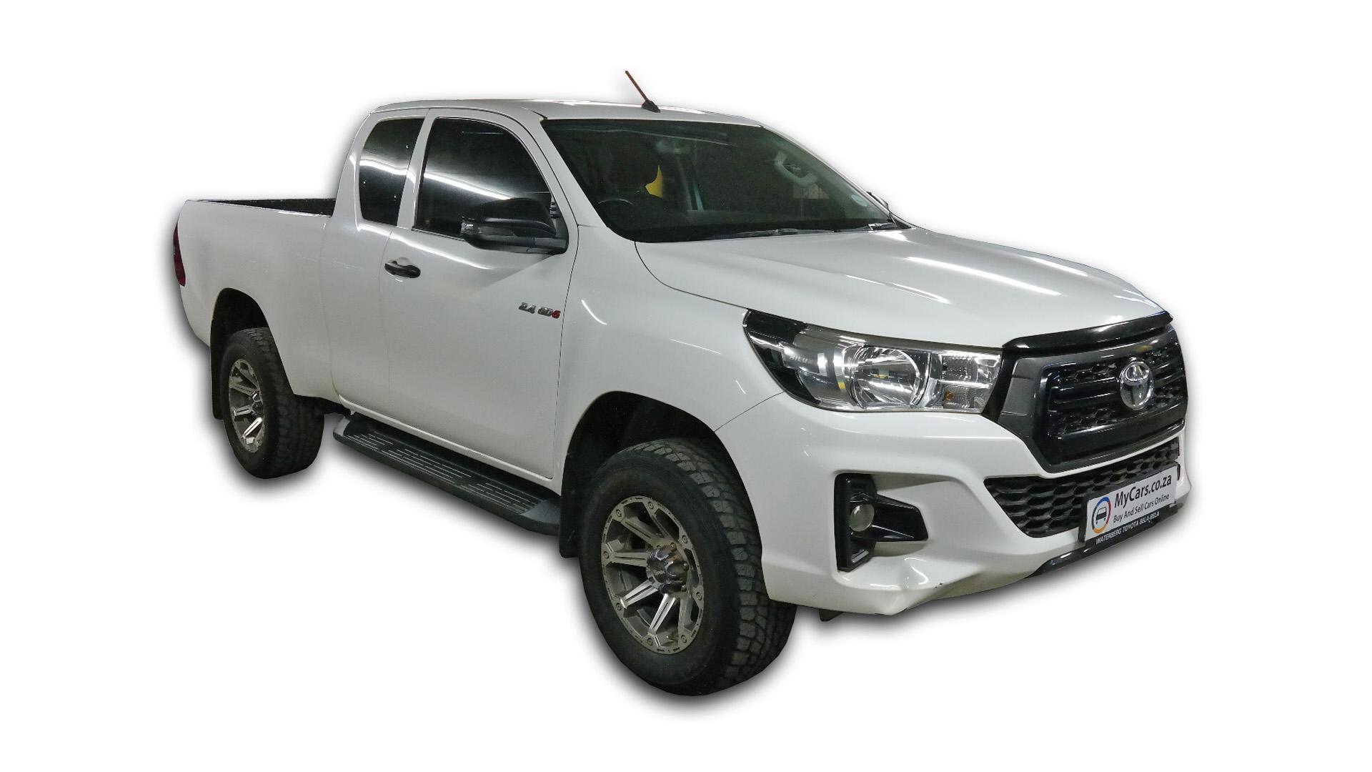 Toyota Hilux 2.4 GD-6 RB SRX P