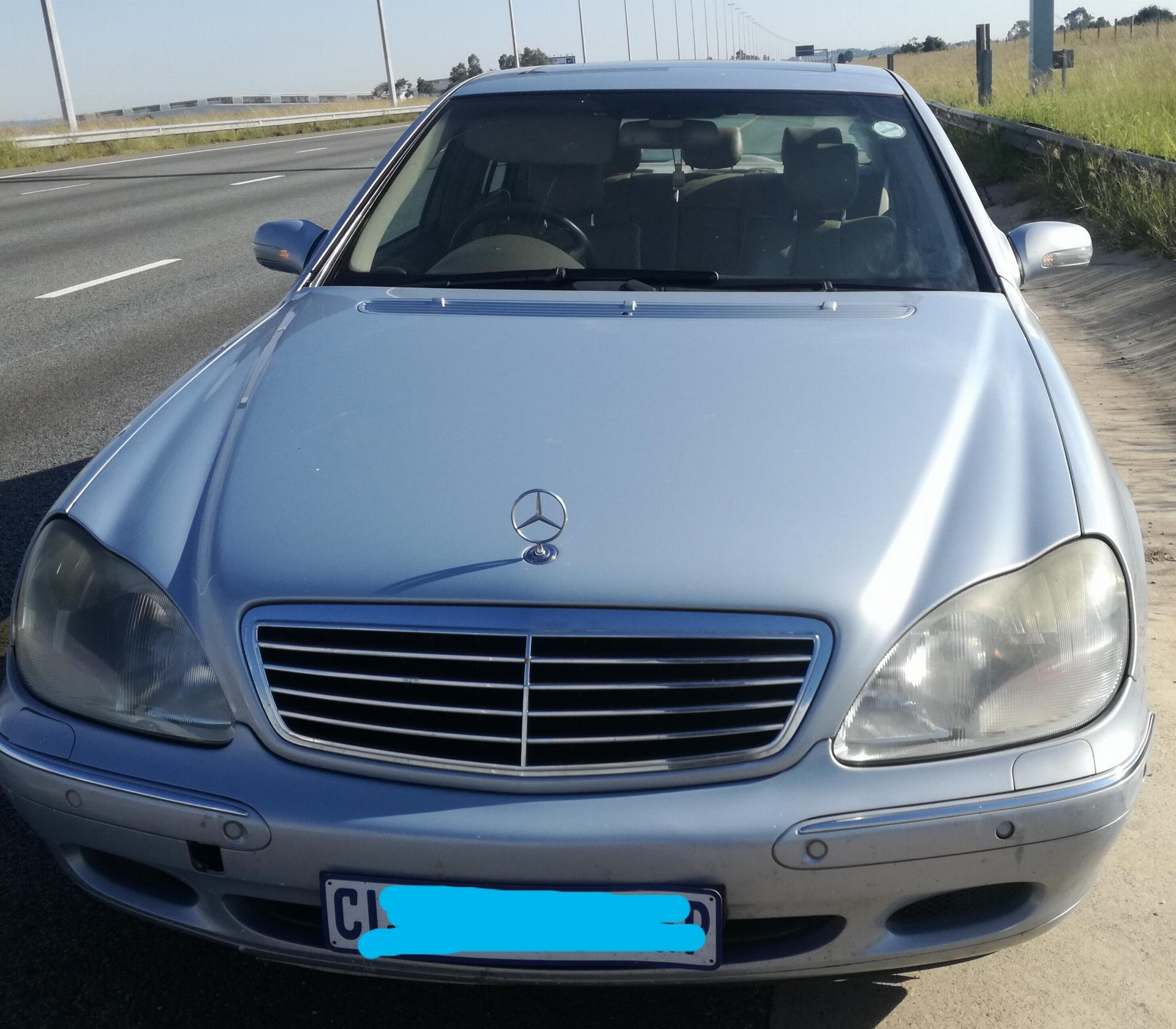 Used Mercedes Benz S Class S320 2002 On Auction