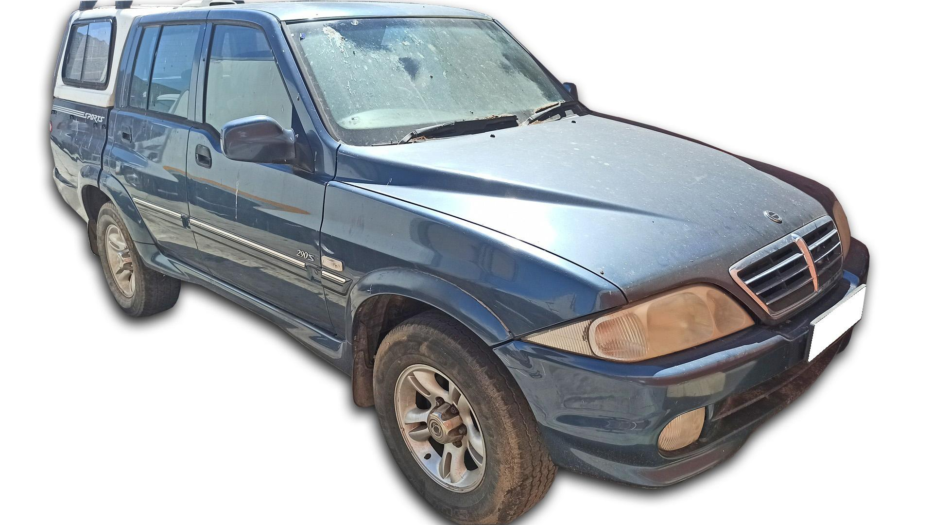 Ssangyong Musso 290 S Sports