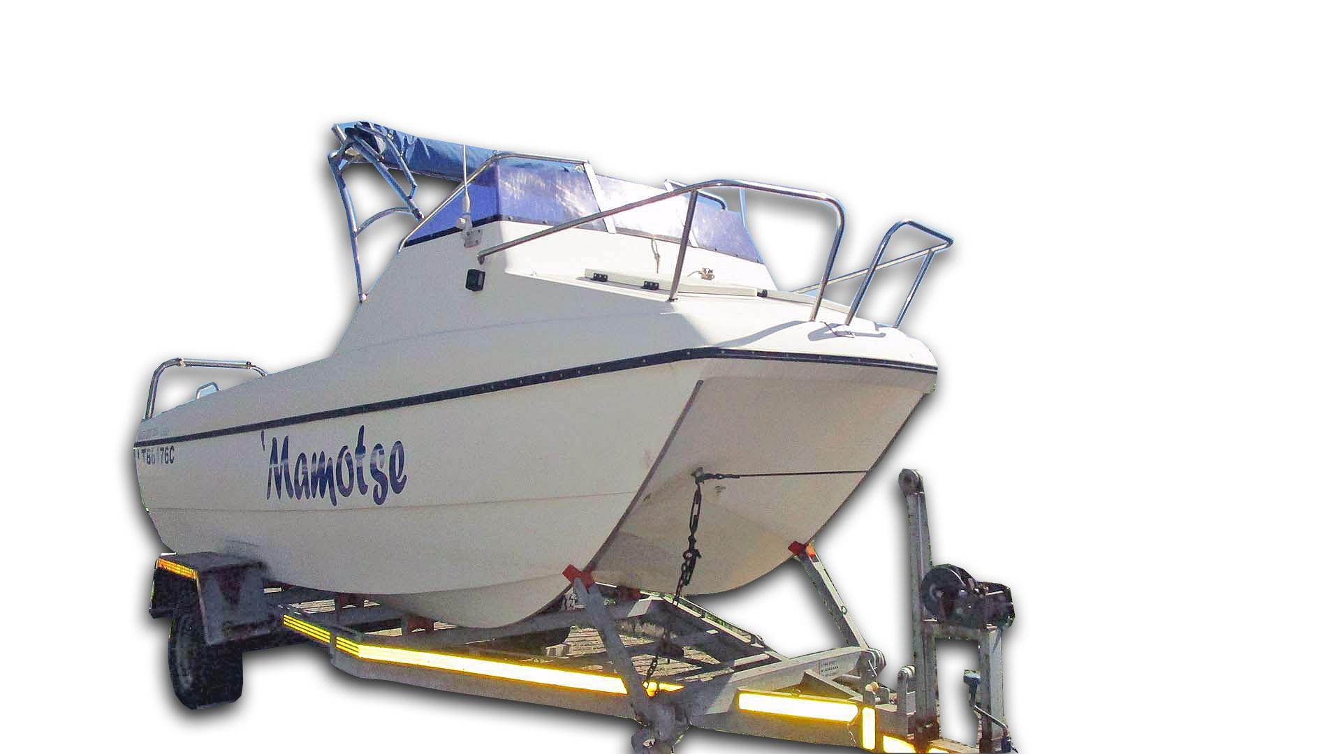 Boat Kosi Cat 18.6FT Trailer TRAILER/MER