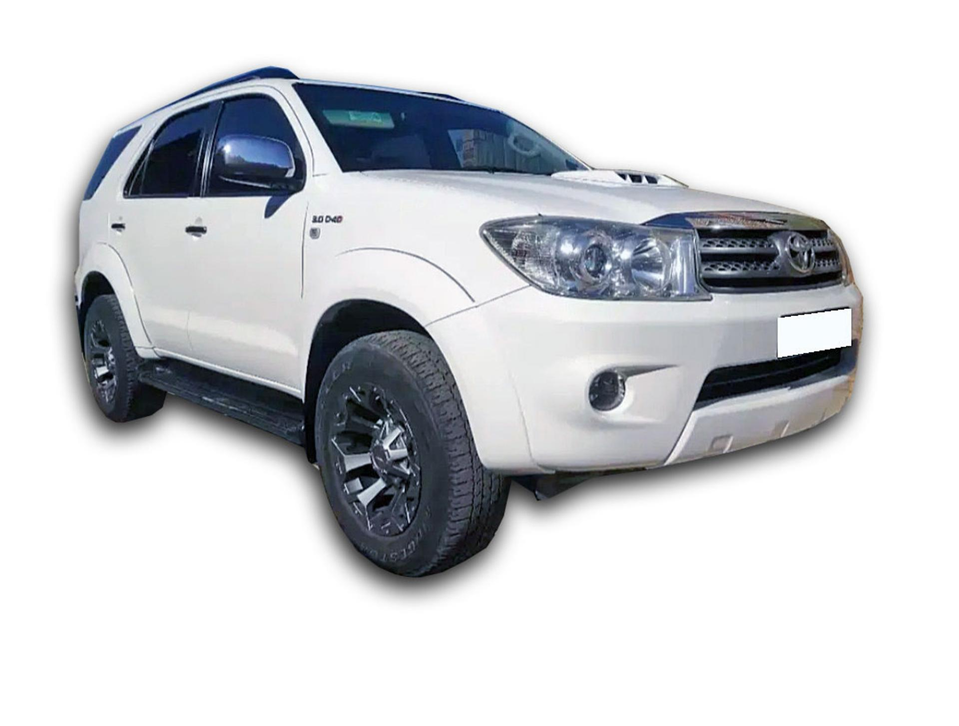 Toyota Fortuner 3.0 D4D 4X2 Automatic