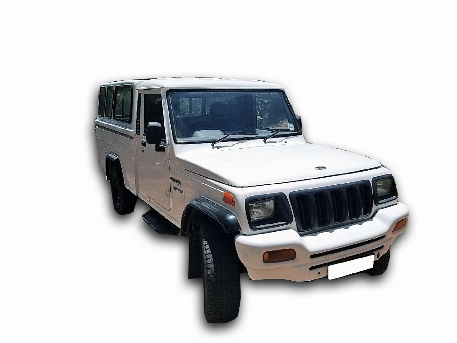 Mahindra Bolero 2.5LT SC Turbo