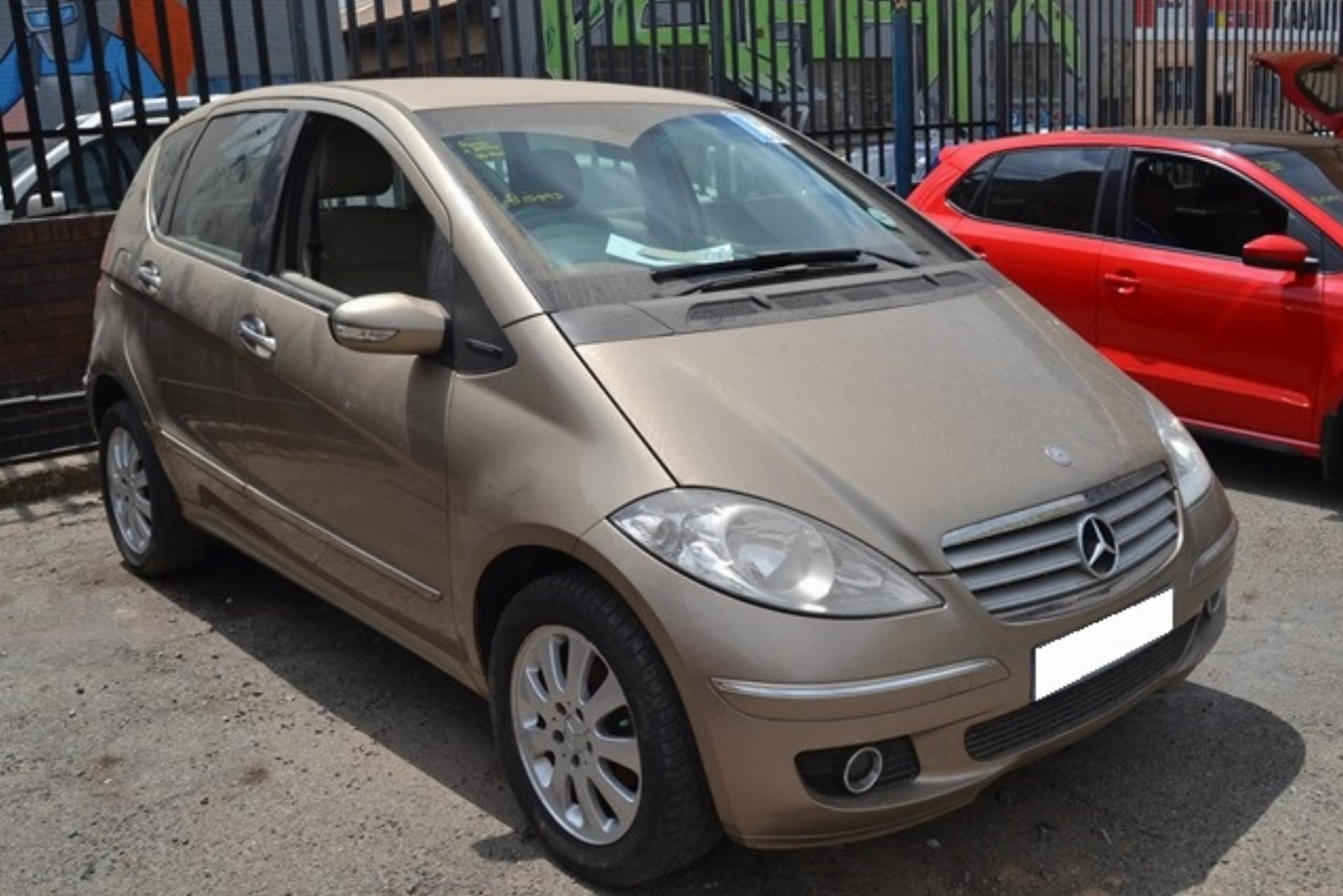 Repossessed Mercedes Benz A Class 200 2005 on auction ...