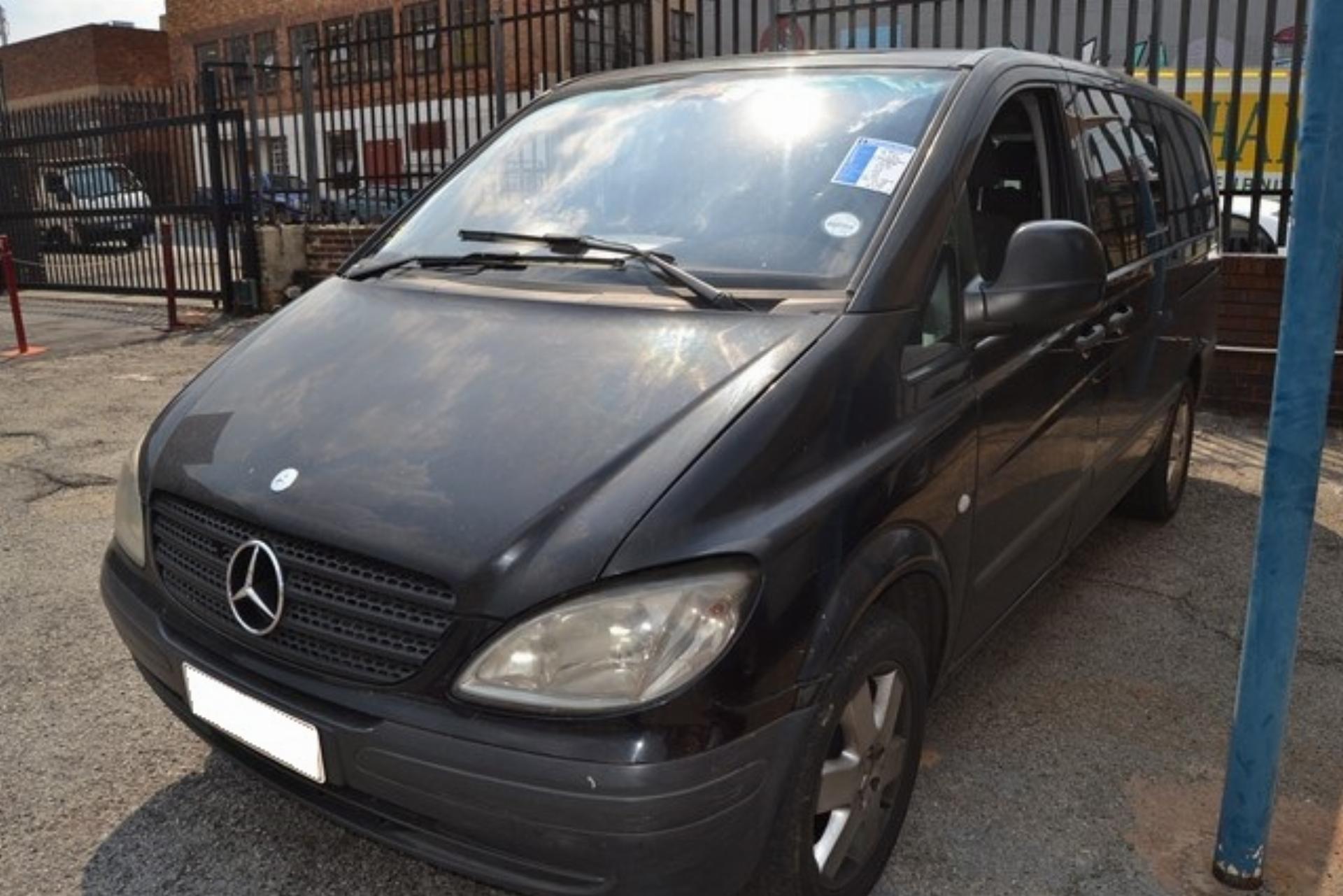 Repossessed Mercedes Benz Vito 115 2.2 2006 on auction - MC42854