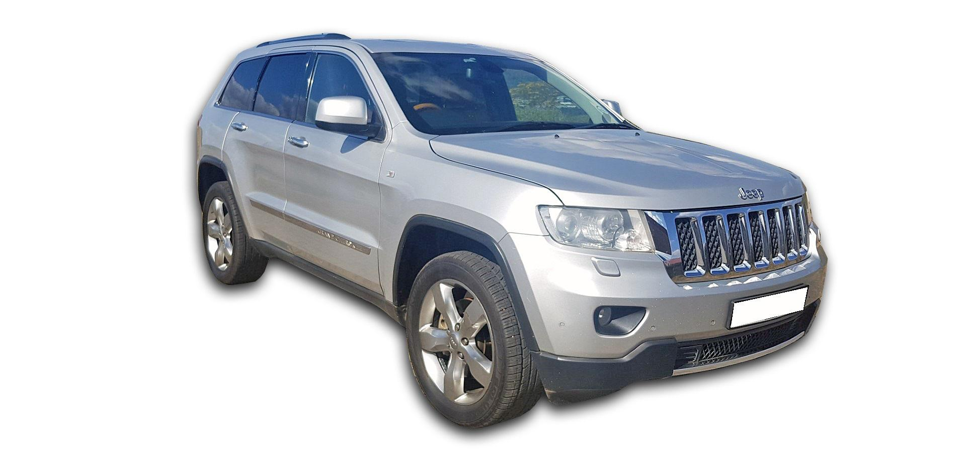 Used Jeep Grand Cherokee 3.6L Overland 2012 on auction ...